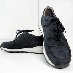 Finn Comfort Prezzo Navy Suede Sneakers Size 8